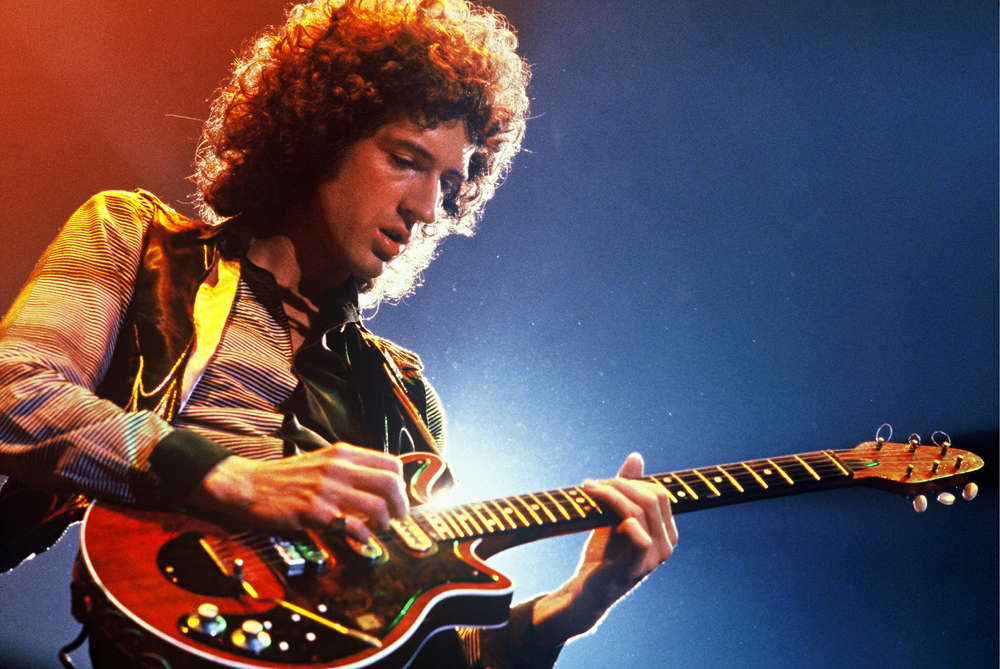 The reason we're here. Brian and his Red Special,