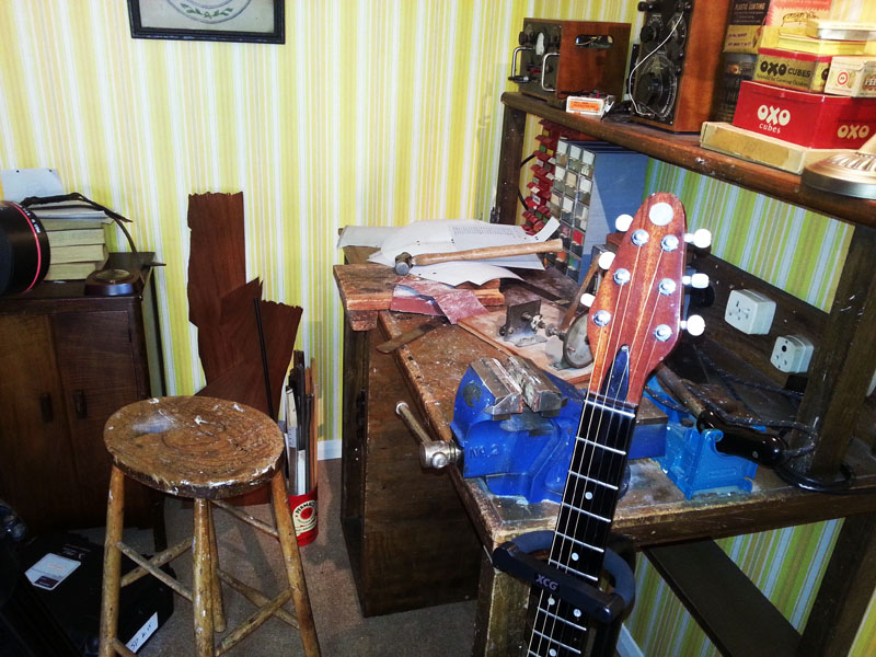 The full set that included Harold May's original workbench Pic © S Bradley
