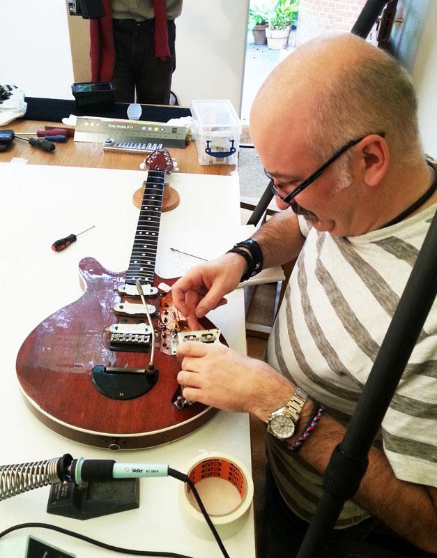 Nigel removing the switch array… steady Pic (c) S Bradley